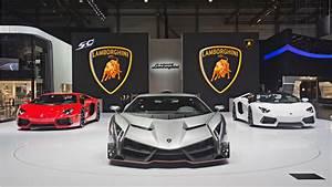 2013 Lamborghini Veneno Geneva Motor Show Wallpaper HD