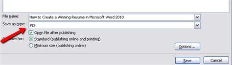 Microsoft Word Resume Creator by Pdf Converter Elite How To Create A Winning Resume In