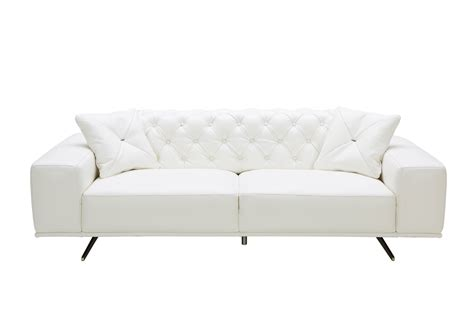 white leather sofa and chair contemporary white leather sofa casa bartlett modern white