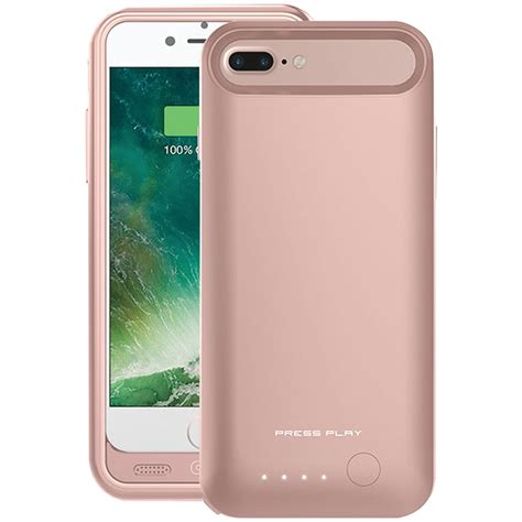 iphone 7 plus zubehör press play ppi7pbcn rgld iphone r 7 plus nero7 battery gold