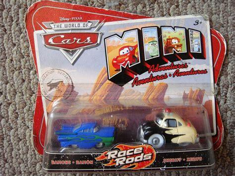 Cars Disney Ramone And Sheriff Mini Adventures 52500