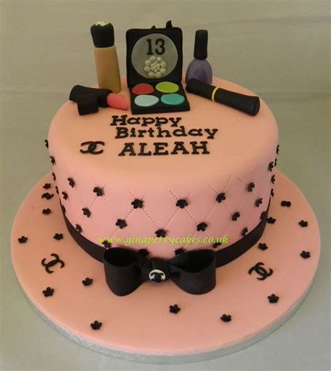 birthday cakes cake 13th themed fashionista 14th makeup party happy teen decorations th wonderful birthdays entitlementtrap