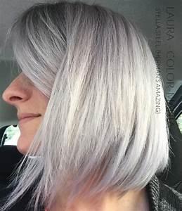 Coloration Cheveux Gris Perle : coloration cheveux gris perle coloration cheveux gris ~ Nature-et-papiers.com Idées de Décoration