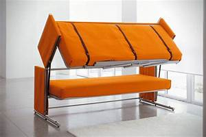 doc sofa bunk bed hiconsumption With sofa becomes bed