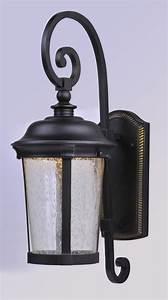 Led Outdoor Lampe : dover led outdoor wall lantern outdoor maxim lighting ~ Markanthonyermac.com Haus und Dekorationen