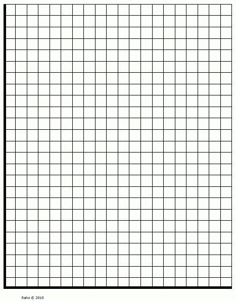 Blank Graph Paper Quadrant 1  World Of Printables