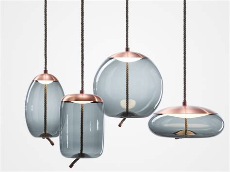 blown glass pendant buy brokis knot light collection at atomic interiors