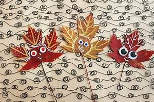 Blätter Basteln Herbst : basteln im herbst 40 ideen wie die natur ins hause ~ Lizthompson.info Haus und Dekorationen