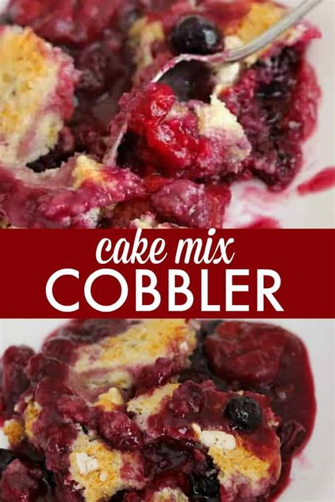 cake mix cobbler simply stacie