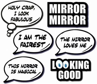 Props Mirror Booth Range Prop