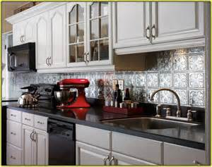 cheap backsplash for kitchen metal tile backsplash ideas home design ideas