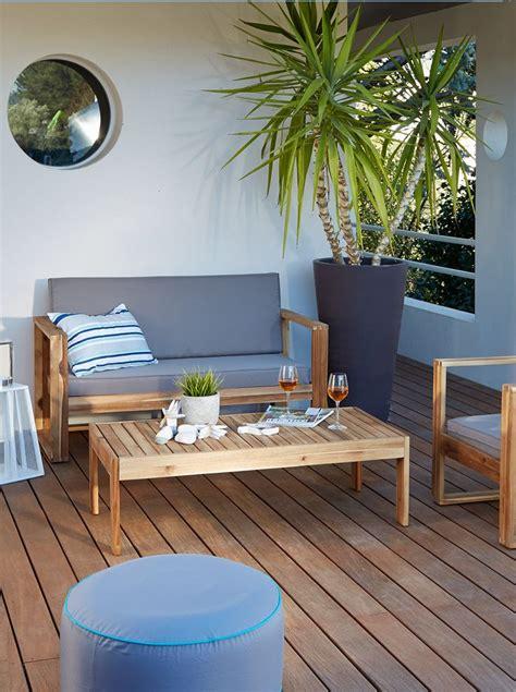 salon de jardin paname terrasses balcons mobilier jardin meuble deco et mobilier de salon