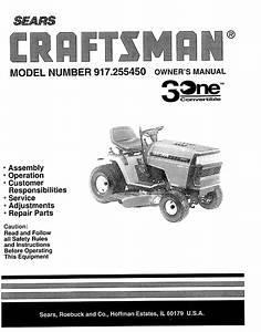 Craftsman Lt3000 Parts Diagram