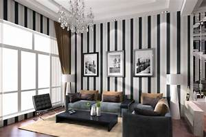 10 Modern Living Room Interior Design Ideas with Striped ...