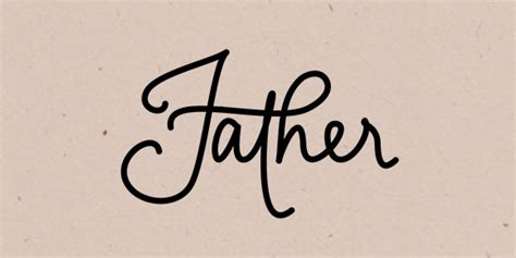 how to hand letter father in illustrator