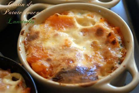 cuisiner de la patate douce petits gratins de patate douce amour de cuisine
