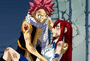 Natsu x Erza by DawnTomorrow on DeviantArt
