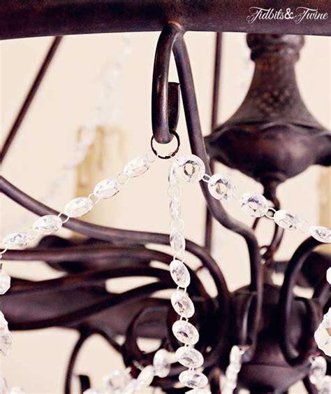 chandelier tidbits twine