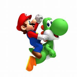 New Super Mario Bros. Wii character art