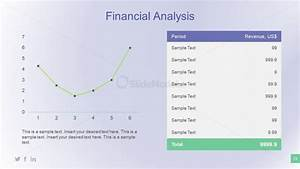 Financial Analysis Chart Slide