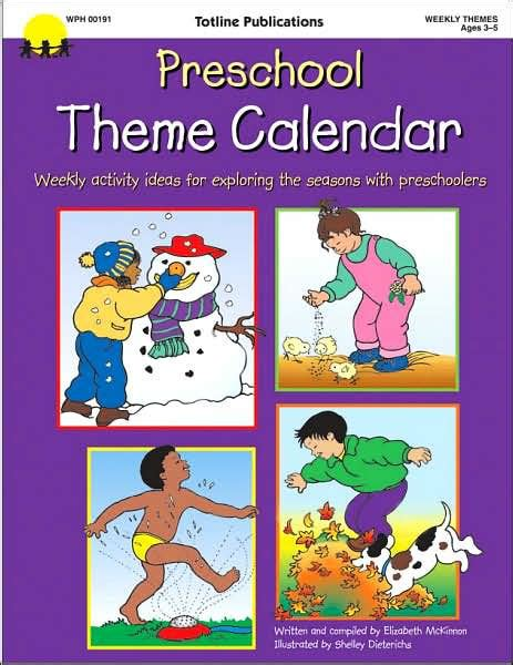 preschool theme calendar weekly activity ideas for 446 | 9781570292439 p0 v1 s1200x630