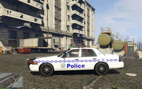 Gta 5 Ford Crown Victoria Nsw Police Car Mod