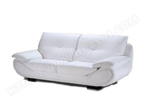 photos canapé convertible cuir blanc pas cher