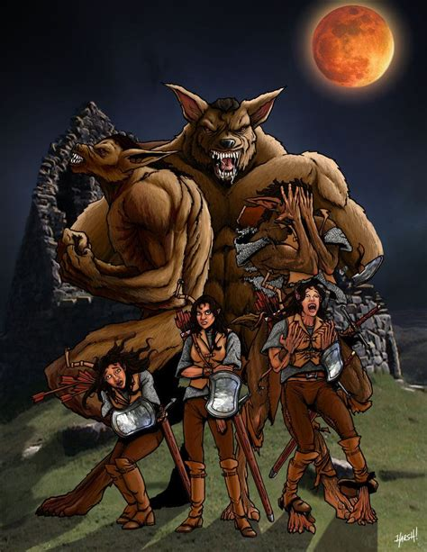 Werewolf Transformation Harshrealities Deviantart