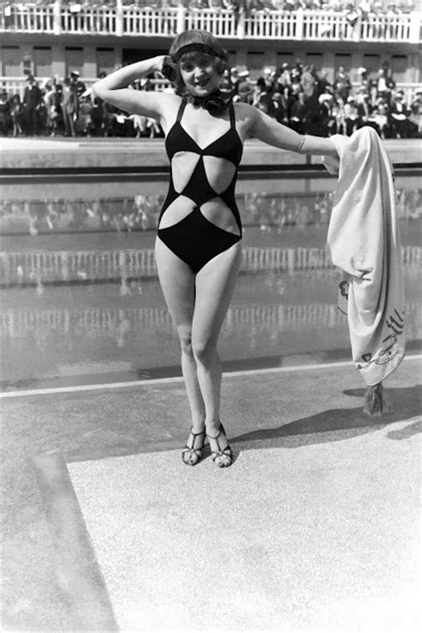 interesting vintage   show  swimsuits