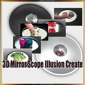 3D Mirror Scope Funny Education Toy, 3D Magic Education ...