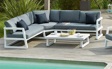 emejing salon de jardin aluminium beautiful table de jardin aluminium ou acier images