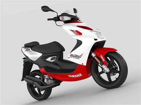 Yamaha Aerox R 2013 3d Model .max .obj .3ds .fbx .c4d .lwo