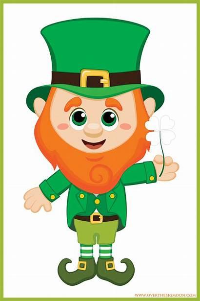 Leprechaun St Clipart Patrick Printable Patricks Shamrock