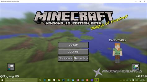 minecraft windows  edition beta ya esta disponible en