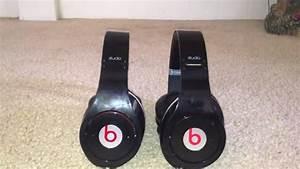 Beats By Dre Studio Real Vs  Fake Comparison  Non