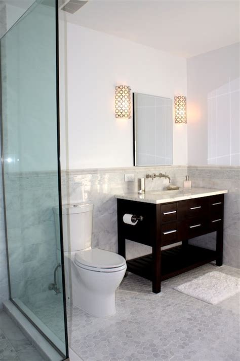 jonathan adler parker sconce contemporary bathroom