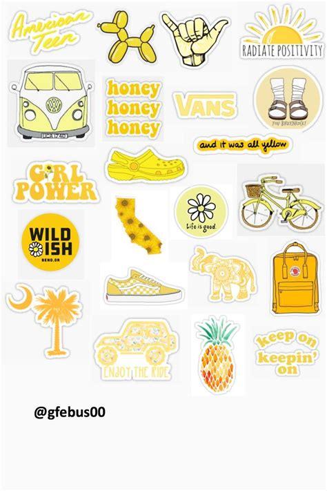 atgfebus yellow theme template iphone case stickers