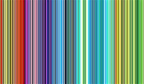 Multi Color Striped Wallpaper