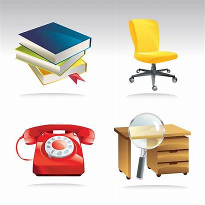 Office Clip Vector Freevector Graphics Desk Phone