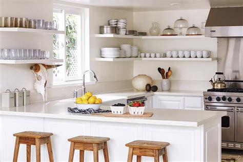 wraparound kitchen shelves design ideas