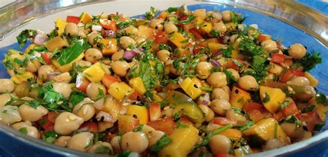 cuisine marocaine facile en salade de pois chiche rapide recette ramadan