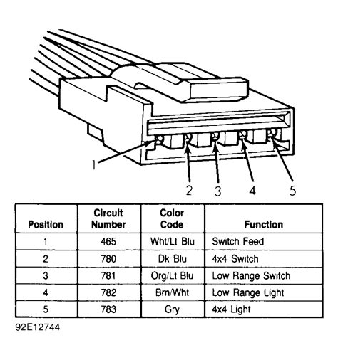 4 Wheel Wiring Diagram 1993 Ford Explorer by Four Wheel Drive Will Not Engage The Four Wheel Drive