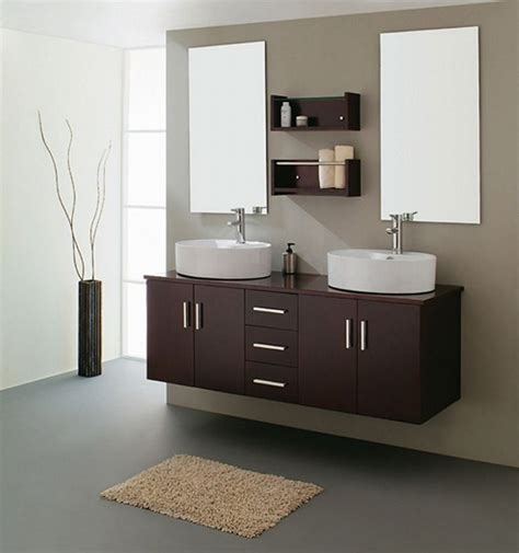blue and brown rug bathroom focal point with splendid bathroom sink cabinets
