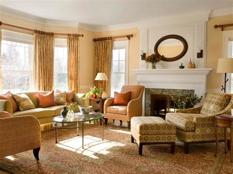 Small Living Room Setup Ideas : How To Place Furniture On A Rug Interior Design