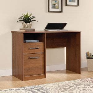 sauder camber hill desk sand pear classic office