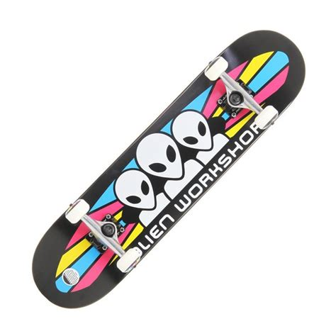 workshop spectrum skateboard deck on sale workshop cmyk spectrum skateboard complete