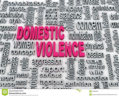 domestic violence stock illustration illustration