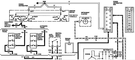96 Ford Ranger Ignition Wiring Harnes Diagram by How Should The Alternator Be Wired In A 1989 Ford Ranger