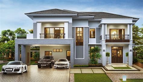 luxury mediterranean home plans luxury villa fully reflected plan home design