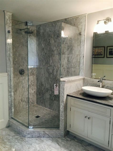 frameless neo angle shower enclosure   header